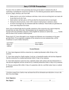 Juror Excusal Covid Form legal pleading template